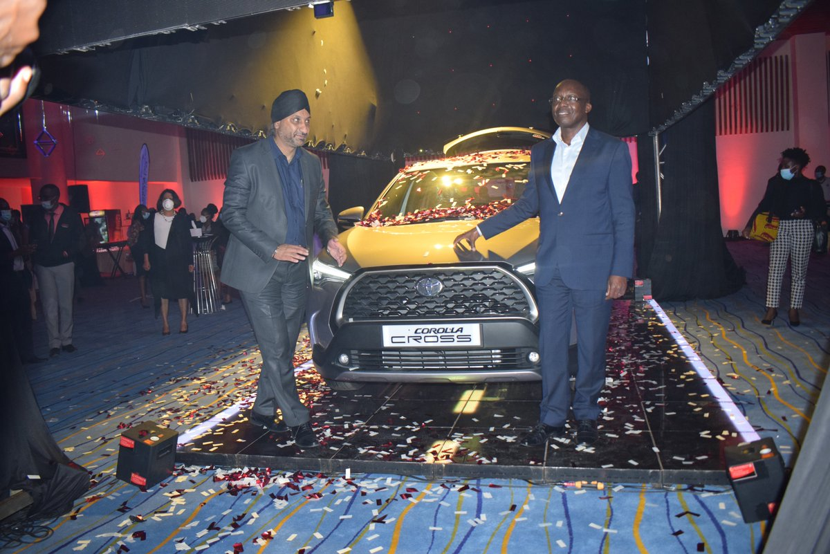 """""""Corolla Cross is a status symbol that combines the key elements of an SUV: strength and functionality."""" Toyota Kenya Managing Director Arvinder Reel. #DriveBrandNew #AnewJourney  #ToyotaCorollaCrossKenya https://t.co/Rc4tSz5Hpk"""