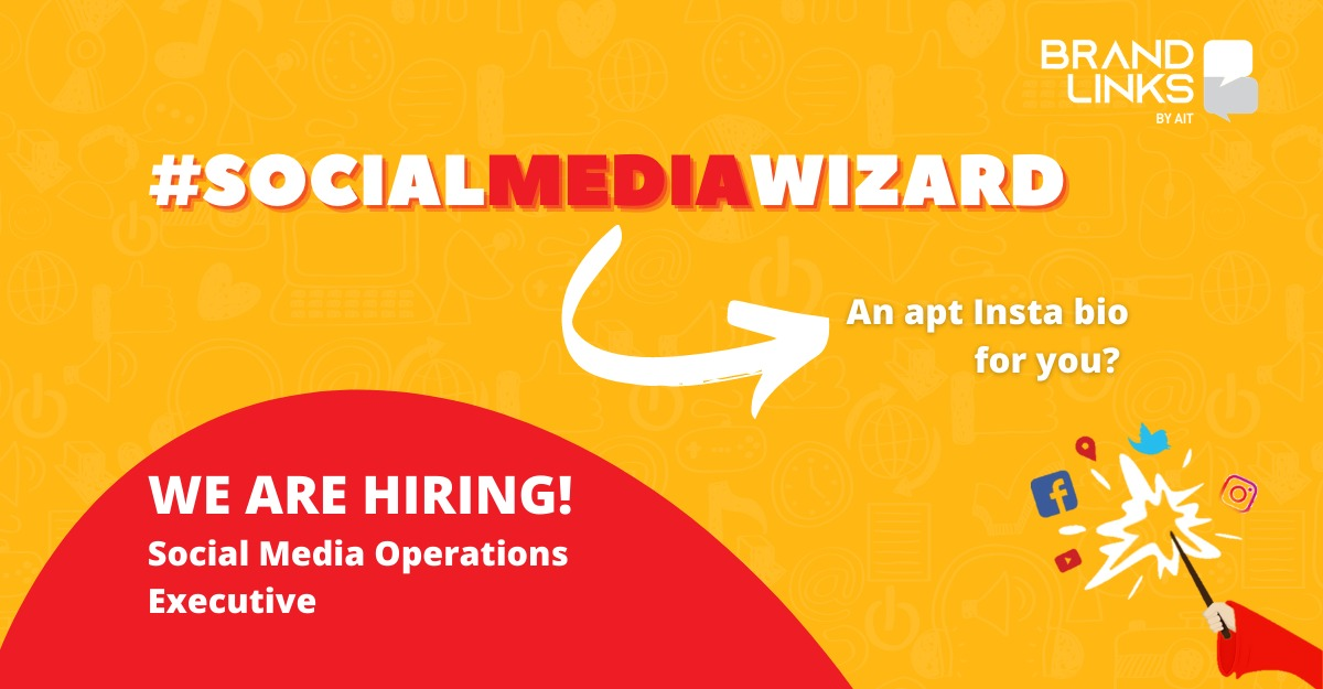 #JobVacancy #Kolkata  We are looking for a #SocialMediaExecutive to manage social media assets and coordinate between internal teams and clients.   To check details & apply, please visit  https://t.co/mCG0CFkc54 https://t.co/m2Fa9ciGRi