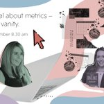 Vanity metrics are so last season! Join Charlotte and @staceykehoe as they breakdown vanity metrics and discuss the #metrics that really matter to measure #success.  Register: https://t.co/tY8jEW3Nna #DigitalMarketing #MarketingWebinars #Marketing