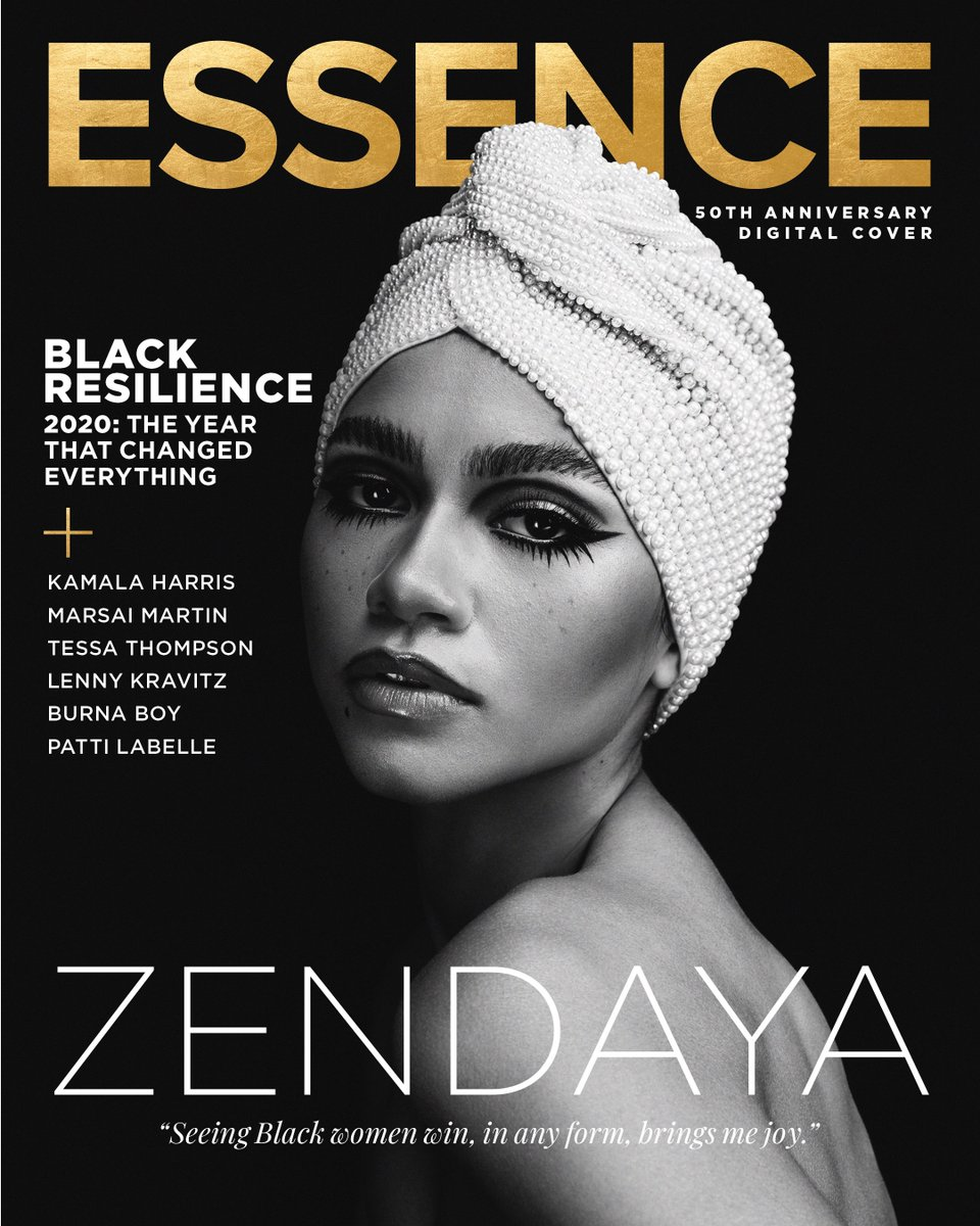 🚨🚨: Global superstar @Zendaya  graces ESSENCE's November + December Collector's Edition—celebrating our 50th anniversary with stunning and picturesque black and white imagery.  The issue launches on November 24th. For more visit .