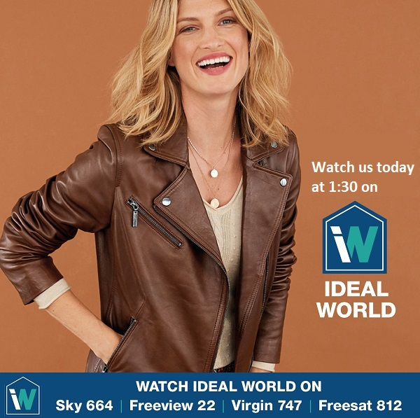 Dont forget to join us on @IdealWorldTV in an hour! Sky 664 Freeview 22 Virgin 747 Freesat 812