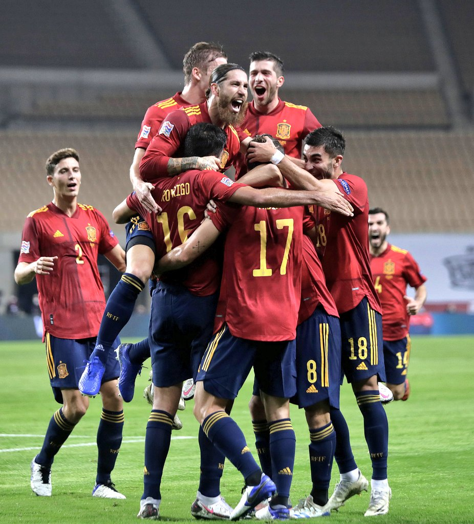 Destroyed #VamosEspaña 🇪🇸