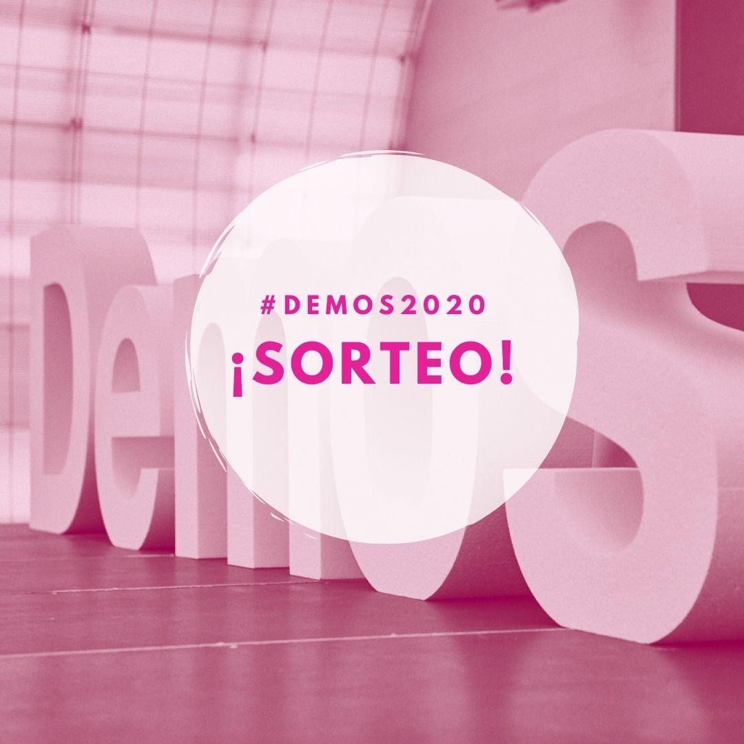 ⚠⚠ ¡Este año no queremos que nadie falte a #Demos2020!  Por eso, sorteamos dos entradas dobles para esta edición que tendrá lugar los días 1, 2 y 3 de diciembre. Descubre cómo puedes participar en nuestra cuenta de  #instagram:   ¡Mucha suerte a todos! 🤞