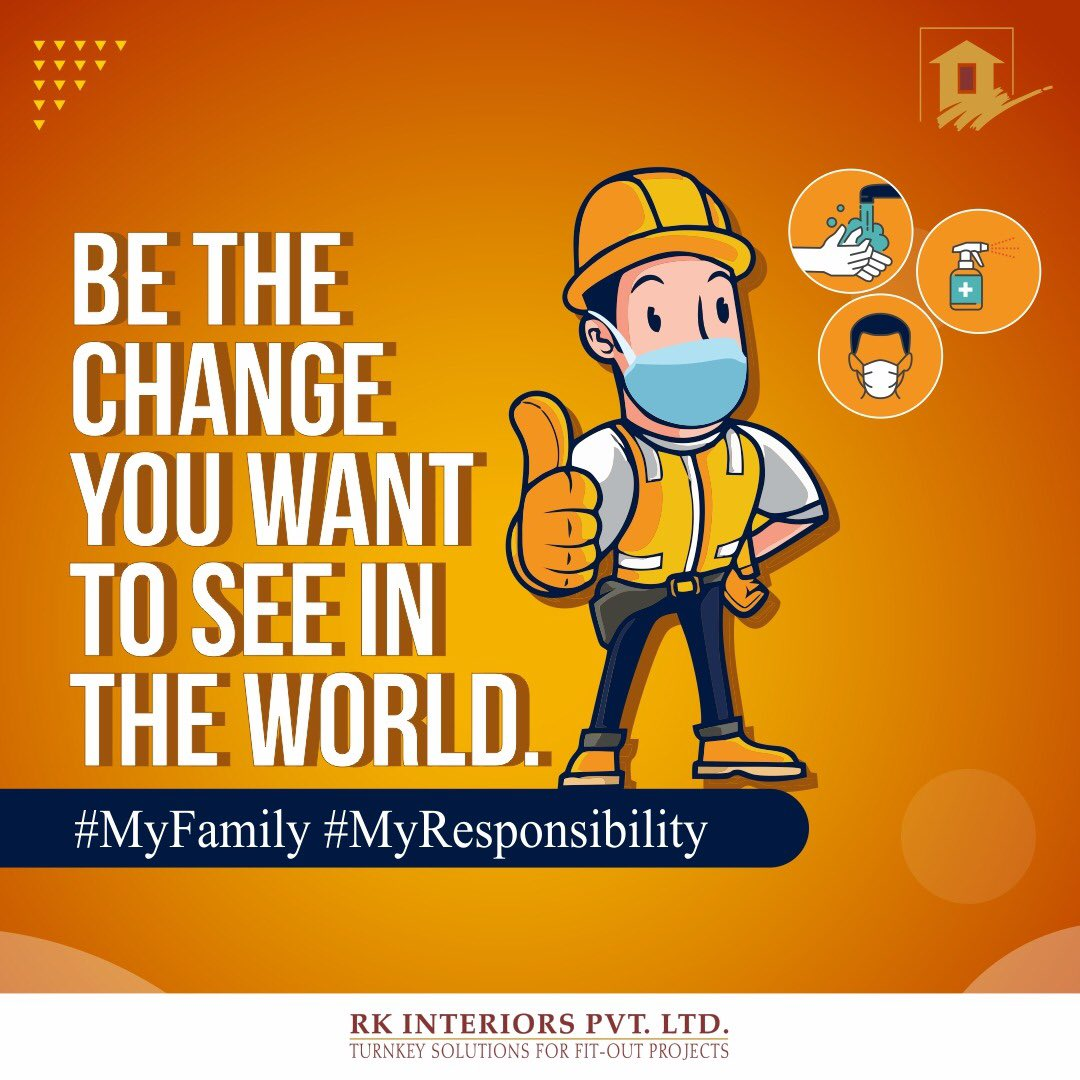 "At RKIPL our employees health and safety is our way of life. Let's together fight this pandemic and learn to live with this new normal.   ""We are in this together and we will get through this, together.""  #Myfamily #MyResponsibility https://t.co/qp5OjYhzP6"