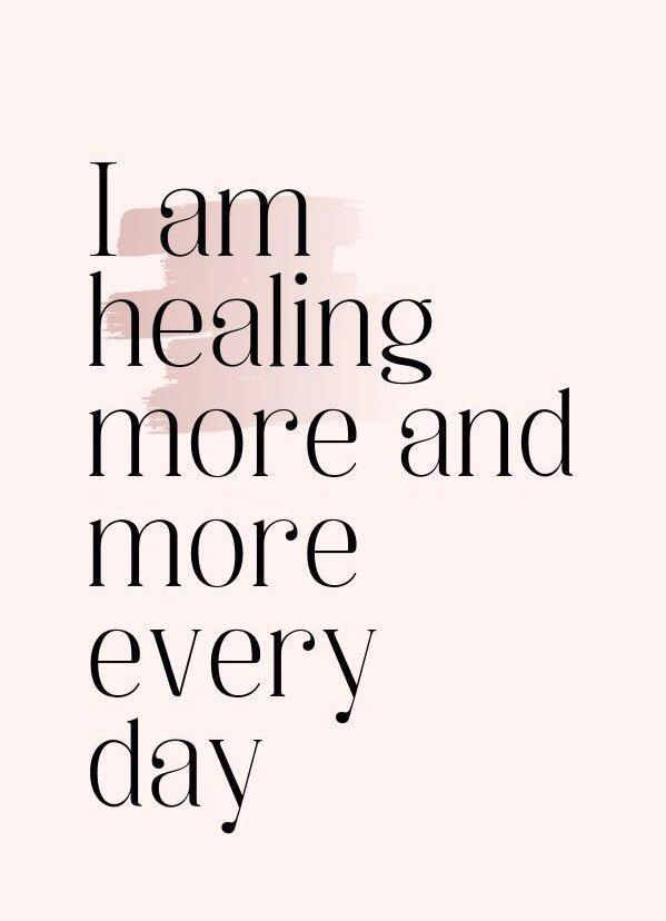A #positive #Affirmation #foryou   I am #Healing more & more #everyday   #wednesdaythought #gratitude #WednesdayMotivation #Grateful #Iambecoming #healthy #wellness #PositiveVibesOnly #positivethinking #positiveenergy #positivityalltheway #positivity #affirmations #mantra