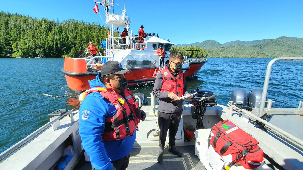 Coastal First Nations are often the first responders in crisis on the water. They play a big part in our marine safety systems, & now @CoastGuardCAN is partnering with First Nations to lead 5 Auxiliary units along the BC coastline. #OceansProtectionPlan canada.ca/en/canadian-co…