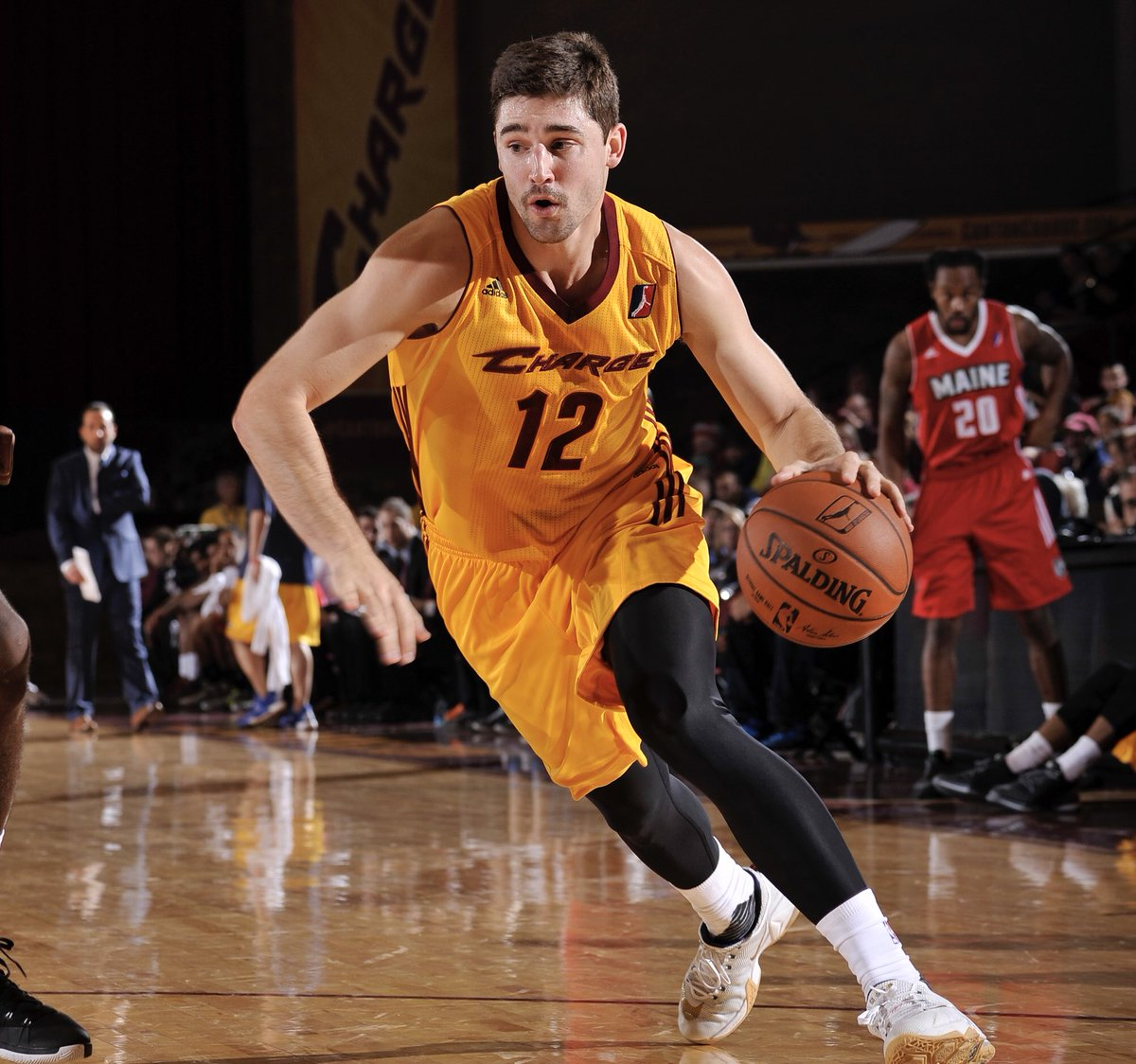 Joey Hoops was drafted 33rd by the @cavs in 2014 and spent his time in Canton honing his 3 point shot 🎯 https://t.co/zosQwUHJz7