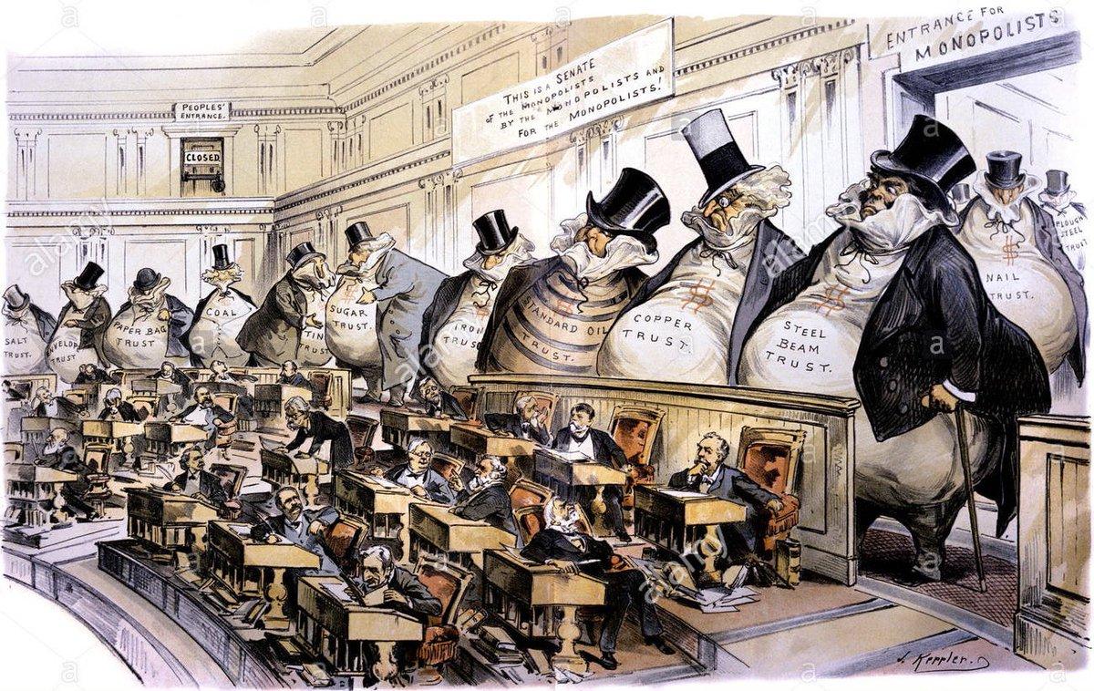 @BernieSanders 100 year old cartoon still holds true