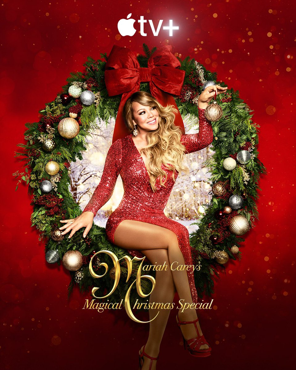 Let's get festive!!! 🎄12/4 @appletv