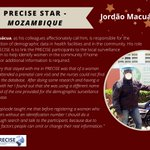 Image for the Tweet beginning: ⭐Jordão Macuácua⭐ is our #PRECISE