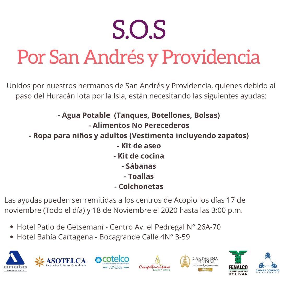 #Cartagena 🙏🏼 Nuestro aporte, sin importar su tamaño, puede hacer la diferencia y ser muy valorado por alguien que lo necesita.   Súmate con tu donación y juntos saldremos adelante. #SOSCartagena