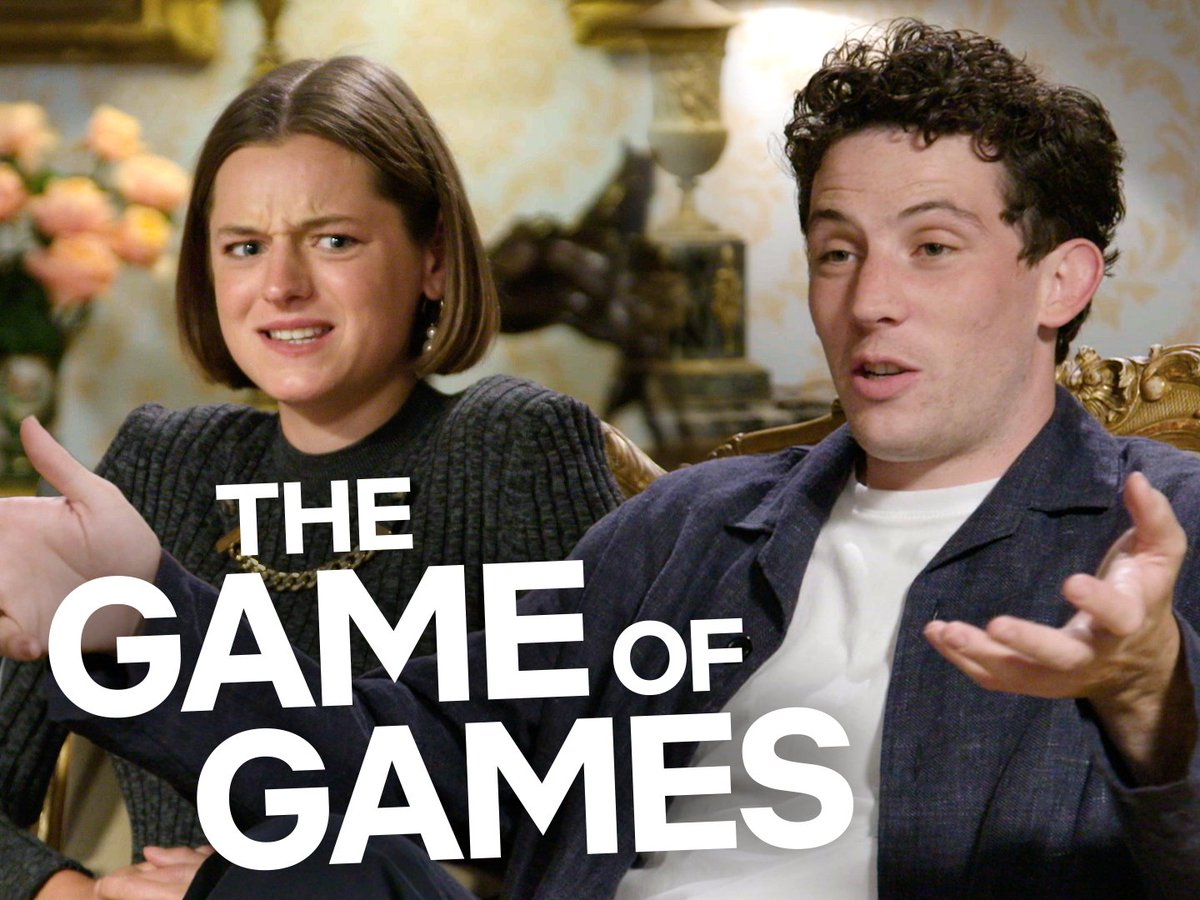 Emma Corrin and Josh O'Connor teach you their wholly original, never-been-played-before... Game of Games!