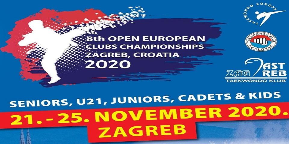 Livestream 2020 Taekwondo Open European Club Championship Zagreb Live
