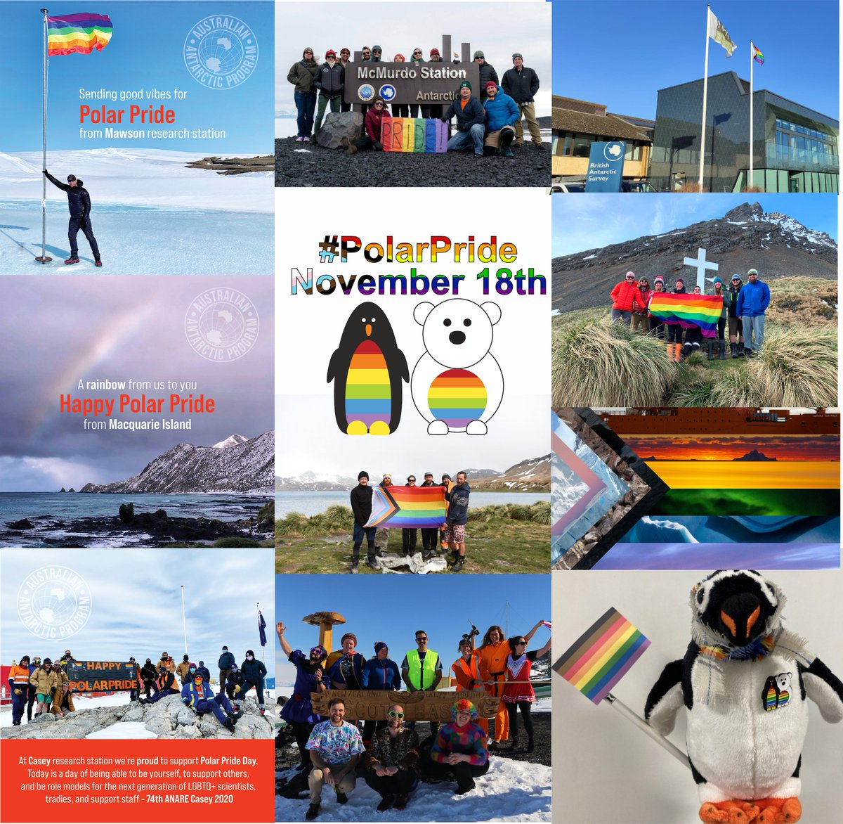 Celebrating #PolarPride Day! The sea women @sednaepic are proud to support and advance diversity in science being conducted at the poles #LGBTQSTEMDay #PolarPride #inclusion #diversity #equity #Arctic #Antarctica @PridePolar @PrideinSTEM https://t.co/B3NA18xiAW
