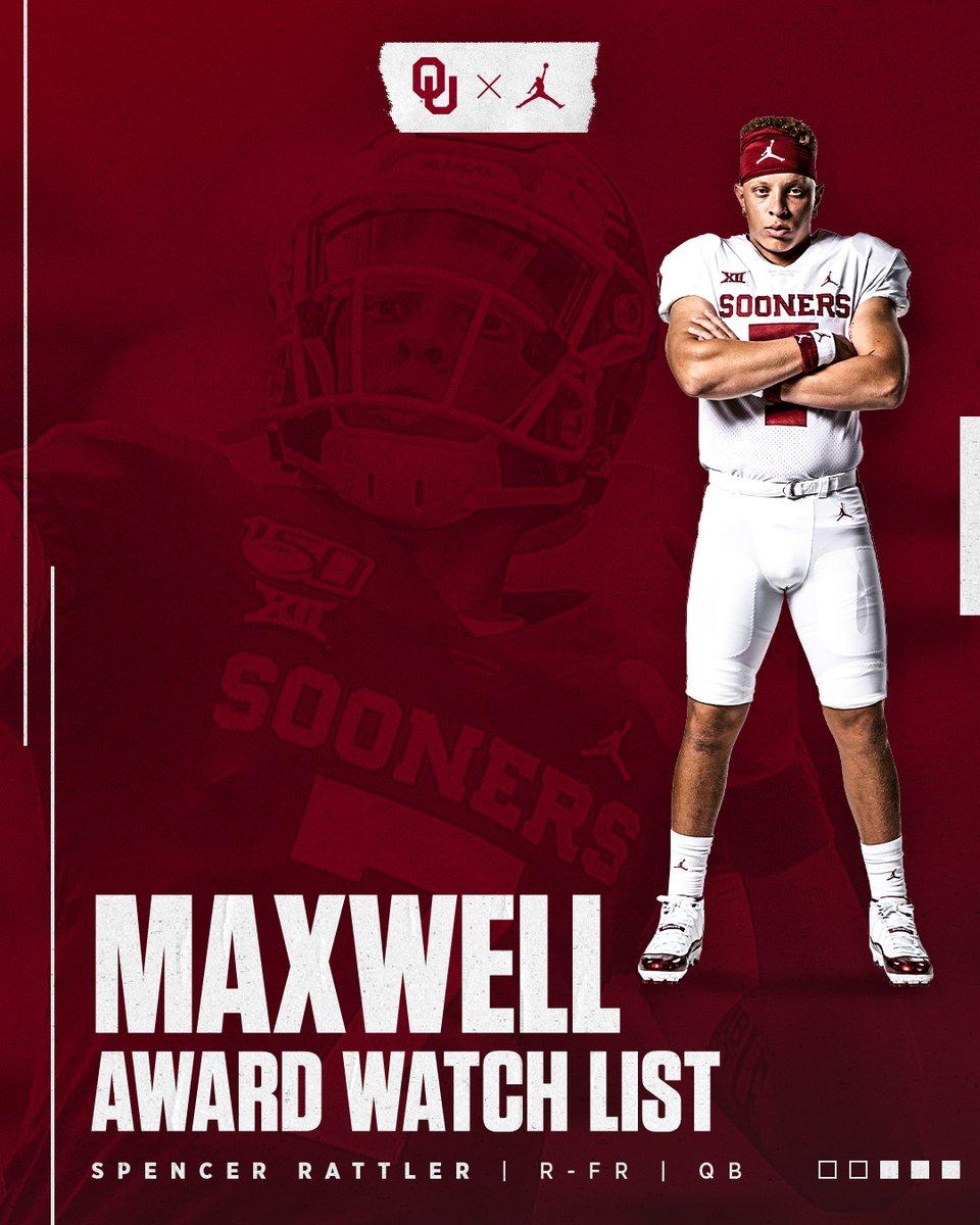 Rattler added to Maxwell Award watch list. #OUDNA