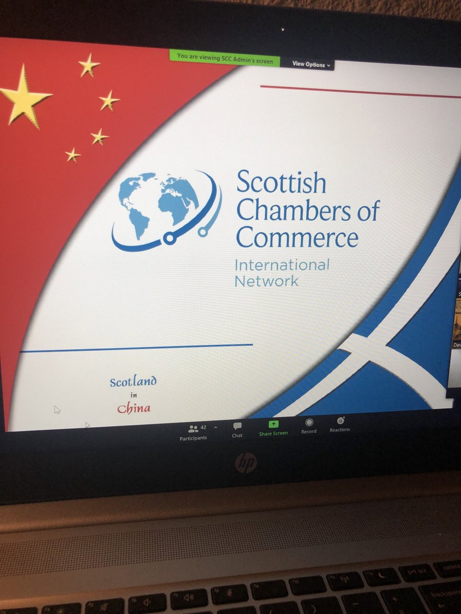 Great session yesterday thanks @ScotChambers #wellconnected