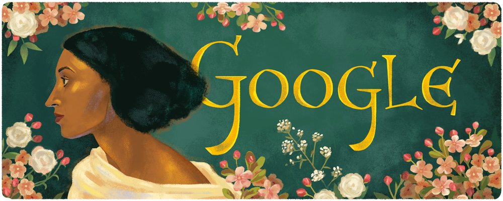 A #GoogleDoodle for Jamaican-British artist muse Fanny Eaton 🎨🇬🇧  Known as one of the most influential muses to the Pre-Raphaelite Brotherhood, Eaton helped to redefine Victorian standards of beauty & diversity 🖼  Learn more →