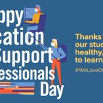 Our students and our schools are better because of our Education Support Professionals. Thank you to all of our ESP! #aew2020