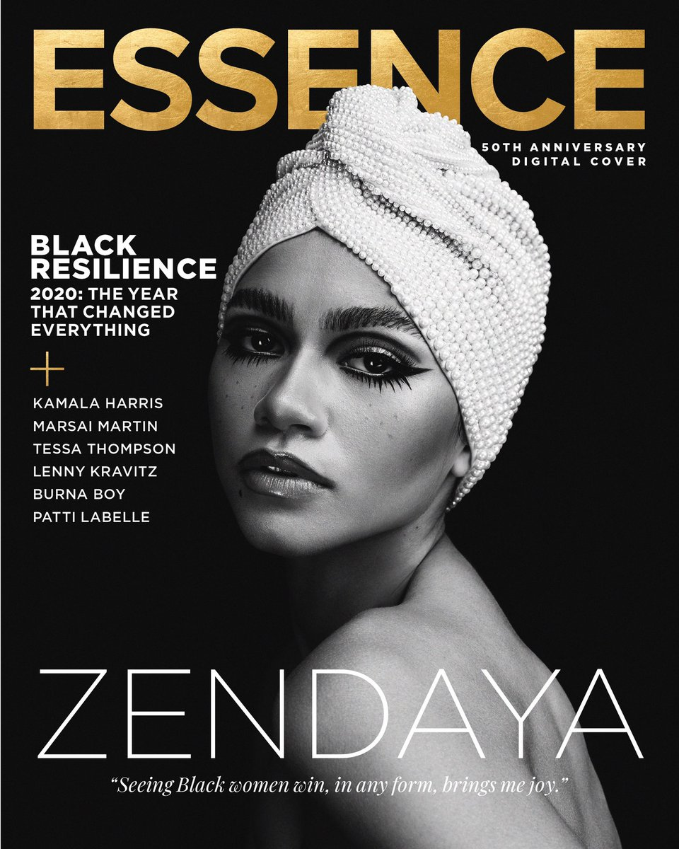 About a week after her historic Emmy win, I had the honor of interviewing @Zendaya for the final cover of @ESSENCE's 50th Anniversary year. On newsstands next week!