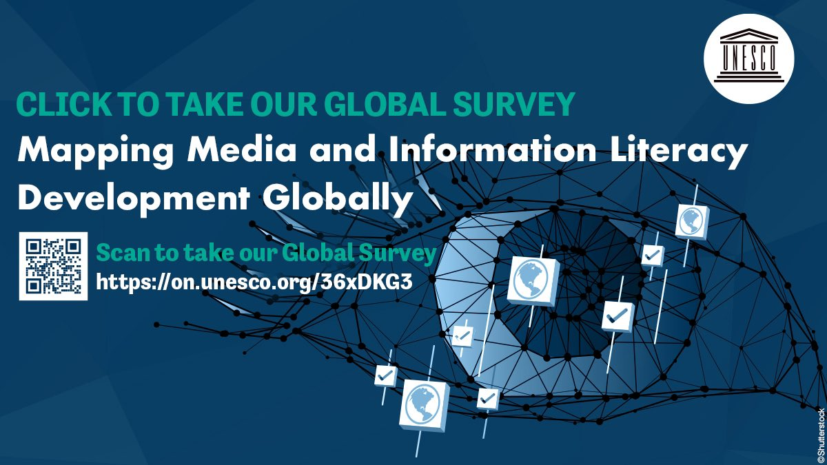 Take and Share our Global Survey on Media and Information Literacy.   We can see more clearly with media and information literacy. Let us cooperate to open our minds eyes! #MILGlobalSurvey