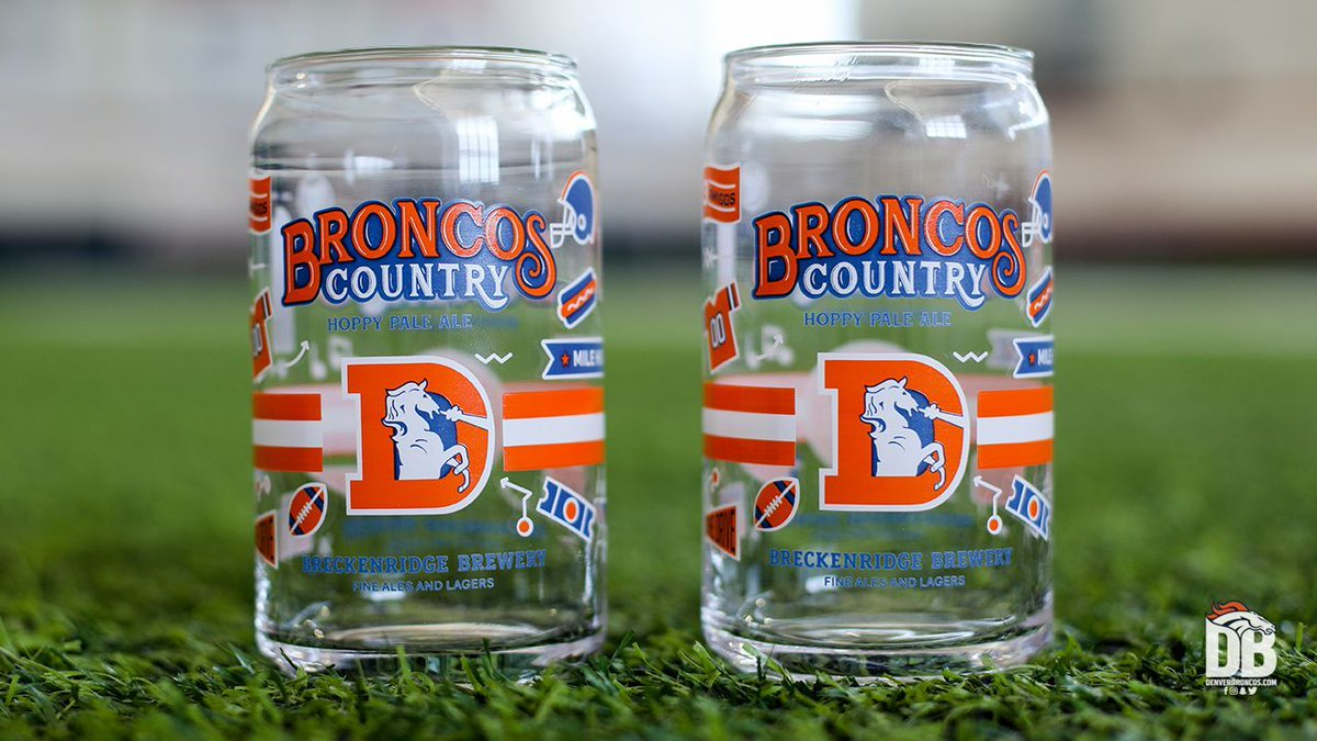 Replying to @Broncos: We've got more @BreckBrew pint glasses to give away! 🍻  RT + follow for your chance to win.