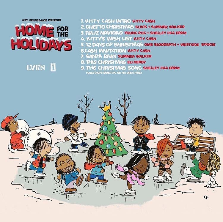 #12DaysofBhristmas w/ @WS_Boogie and @ombbloodbath 🎁@LVRN #HomeForTheHolidays out now. Listen over on the site -
