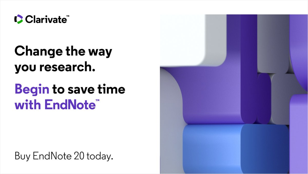 Hey #AcademicTwitter! 📣  We're calling on YOU to depict the moment when EndNote changed your life. For a chance at winning a FREE copy of #EndNote20, share your gifs, memes & Tweets that best describe that life-changing moment before Friday November 20: