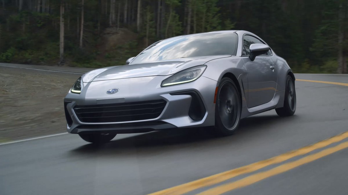 Image for the Tweet beginning: The all-new 2022 @subaru_usa BRZ