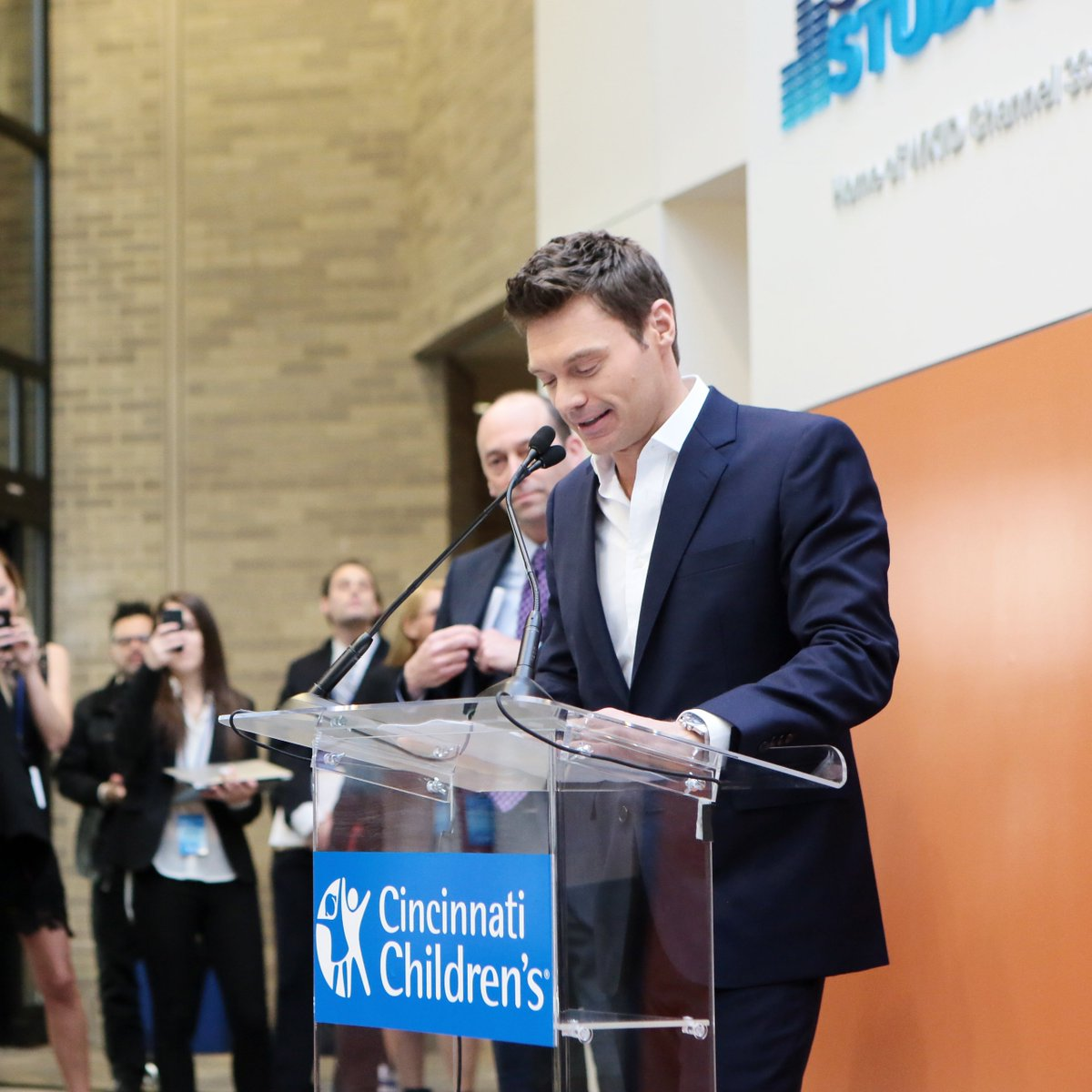 Today wraps our month of studio birthdays! Seven years ago we opened the doors to #SeacrestStudios at @CincyChildrens and we could not be more proud of all the memories they have created with patients since. Stay tuned for more from our celebration!