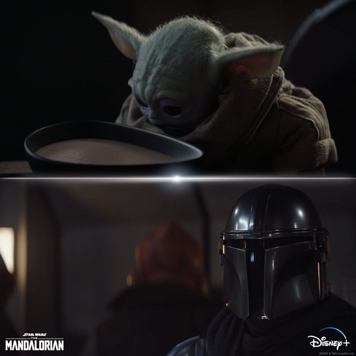 Don't play with your food. Chapter 11 of #TheMandalorian is now streaming on #DisneyPlus.