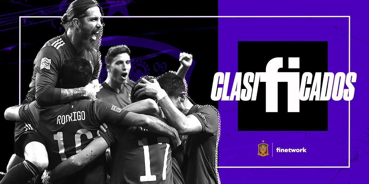 ⚽¡¡Enhorabuena Campeones!!🏆🇪🇸  🤗Gracias por brillar en la Ciudad de la Luz✨  #SomosEspaña  #SomosFederación #SomosFinetwork