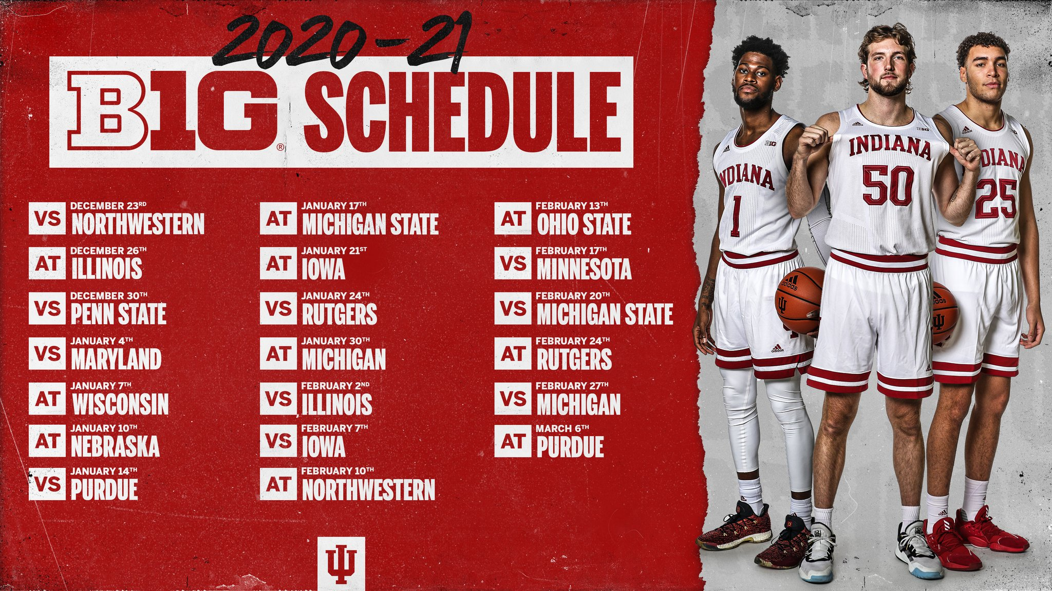 Indiana University Calendar 2022.Iu Basketball The Complete 2020 21 Schedule Is Here The Daily Hoosier