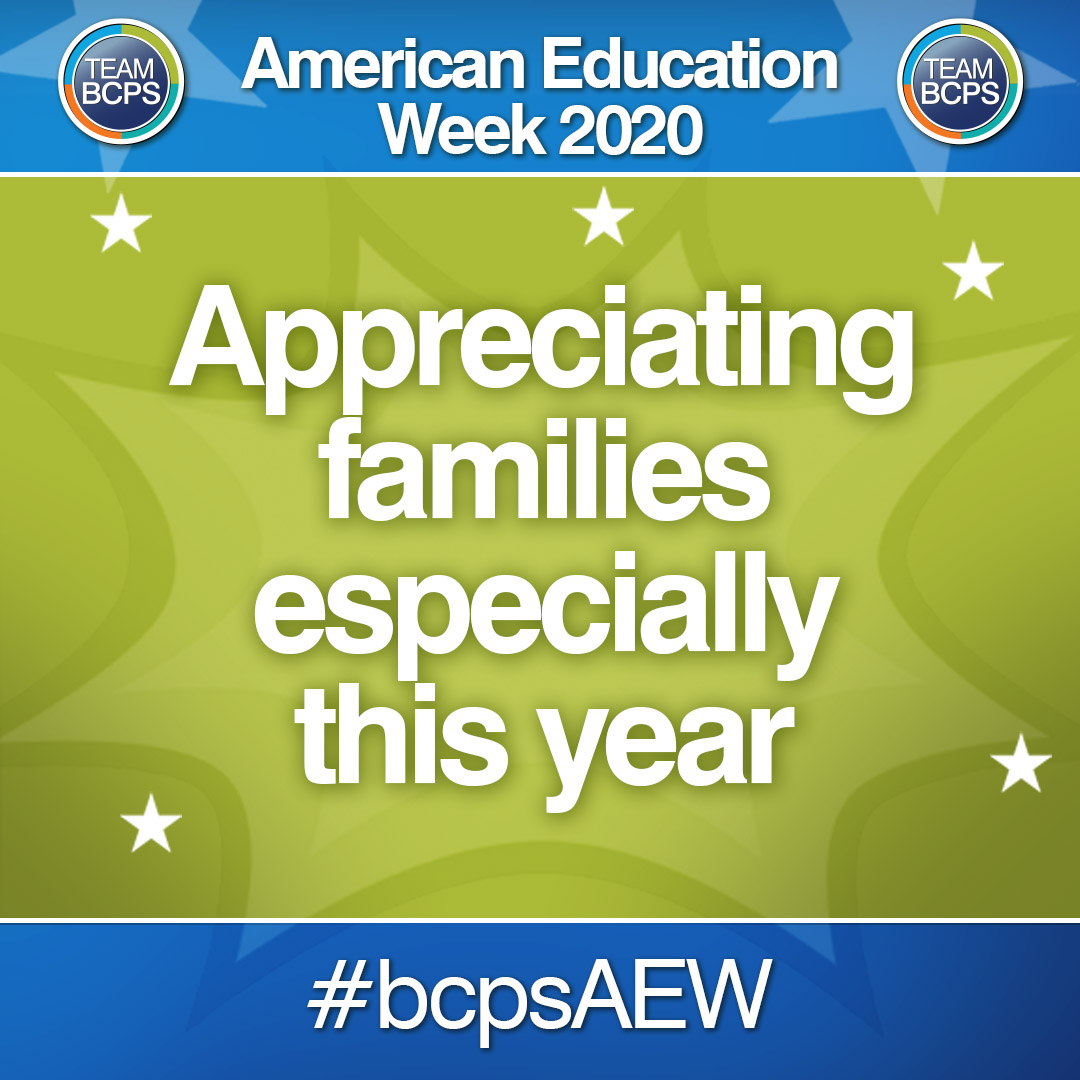 Especially this year! 💙 Thank you, families. We're in this together #bcpsAEW