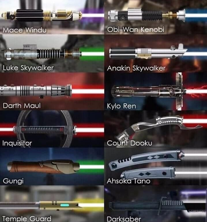 Obi Bro Kenobi On Twitter Which Lightsaber Would You Choose Every day new 3d models from all over the world. twitter