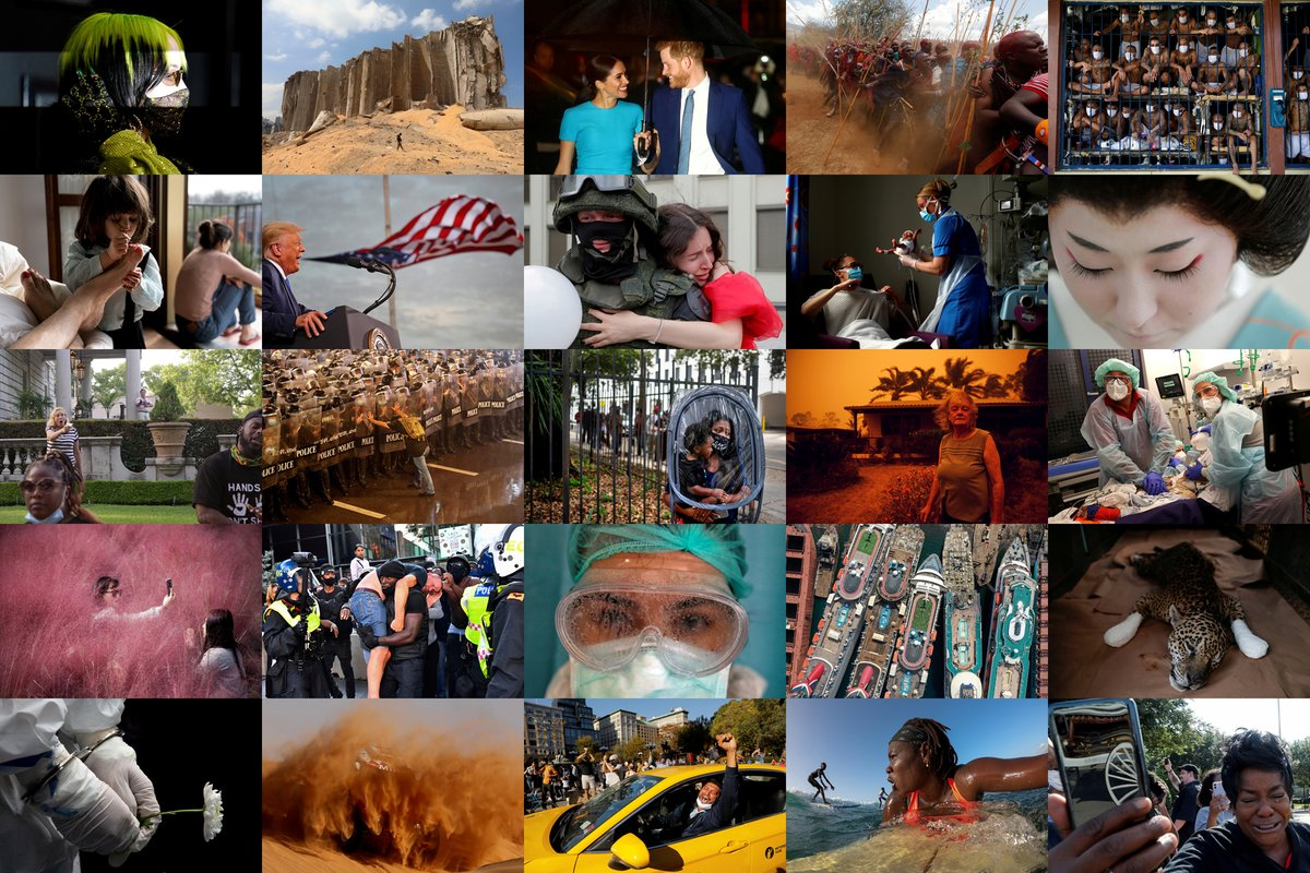 Reuters photographers captured the biggest stories of 2020, from the coronavirus pandemic to the U.S. elections, from Black Lives Matter protests to climate change. Here are our best pictures of the year: