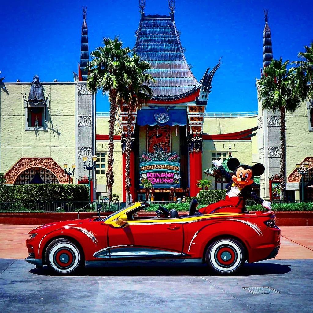 Happy 92nd Birthday Mickey Mouse!  #MickeyMouse #Birthday #DisneysHollywoodStudios #DHS #WaltDisneyWorld #Wdw #DisneyParks #Disney #ThemePark #chevycamaro #camaro #mickeyandminniesrunawayrailway #cartoon #MinnieMouse #SteamBoatWillie #Disneyland #DL #Dlo…