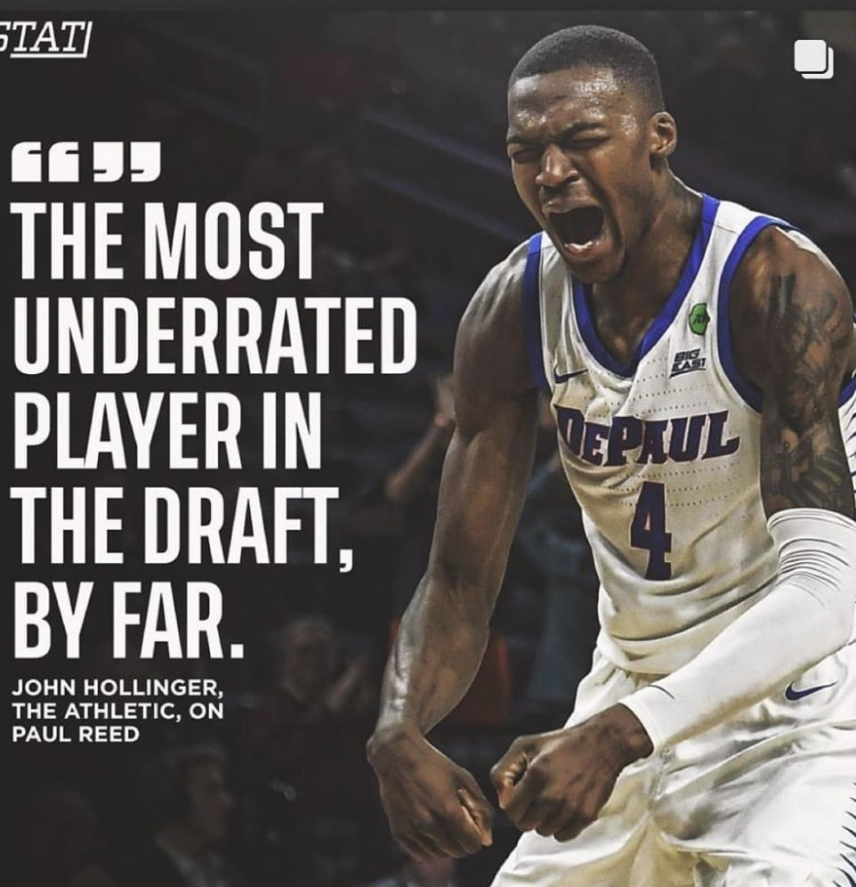It's almost that time. So proud of this young man @Bball_paul #draft2020 #callmyboyearly #nbabound #thegoathimself #hardworker #abucket #showtimealumni #dsb4life