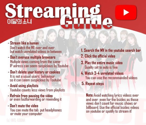 ORBITS! there'll be a streaming party for why not and star in 10 minutes (4am kst) if you're able to participate please do stream & go over the streaming guide! #이달의소녀 #LOONA @loonatheworld