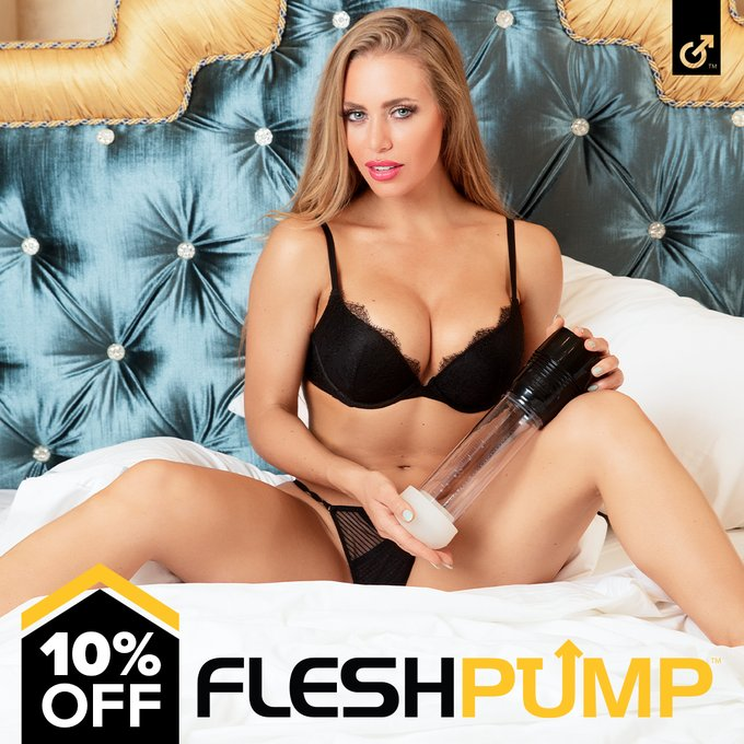 Pump up the savings with 10% off the Fleshlight FleshPump by using coupon code PUMP at checkout. Save