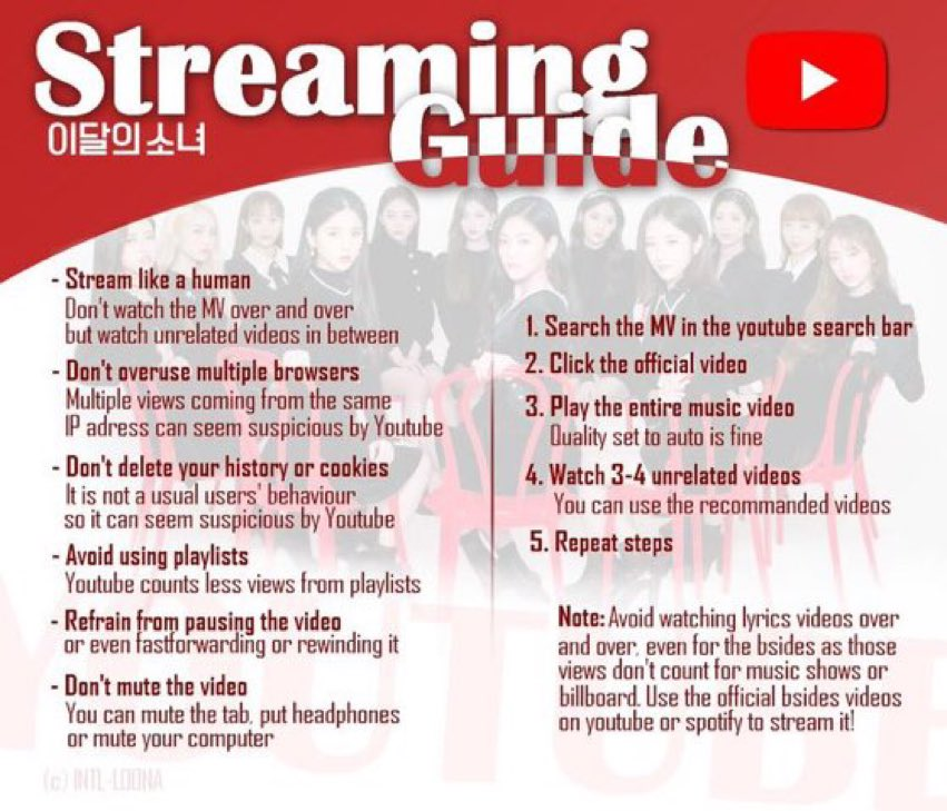 hey everyone! the streaming party begins NOW please stream the following music videos: Why Not → youtu.be/b6li05zh3Kg 1thek Why Not → youtu.be/0-snXdhDs1w Star → youtu.be/zW-AIXAnLcE 1thek Star → youtu.be/GzdZSz9POm4 #이달의소녀 #LOONA @loonatheworld
