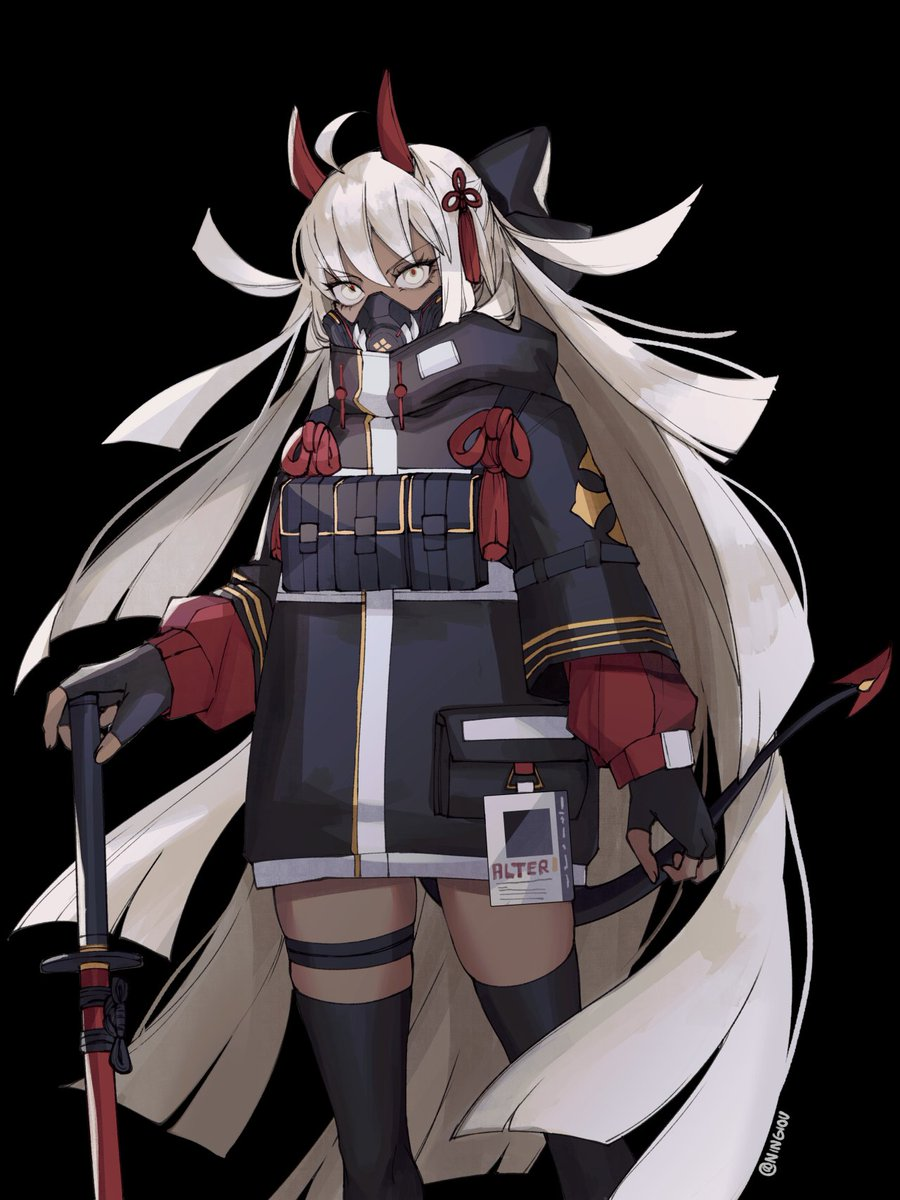 Patreon/Fanbox November SFW poll winner: Okita Alter