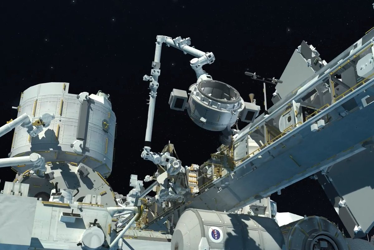 As more scientists and companies wish to expand the size of the projects they send to low-Earth orbit, a larger doorway on the @Space_Station could help. The Bishop Airlock plans to provide this new doorway for deploying CubeSats, housing science and more. https://t.co/50bGQQFMp7 https://t.co/58mUGi7jCK