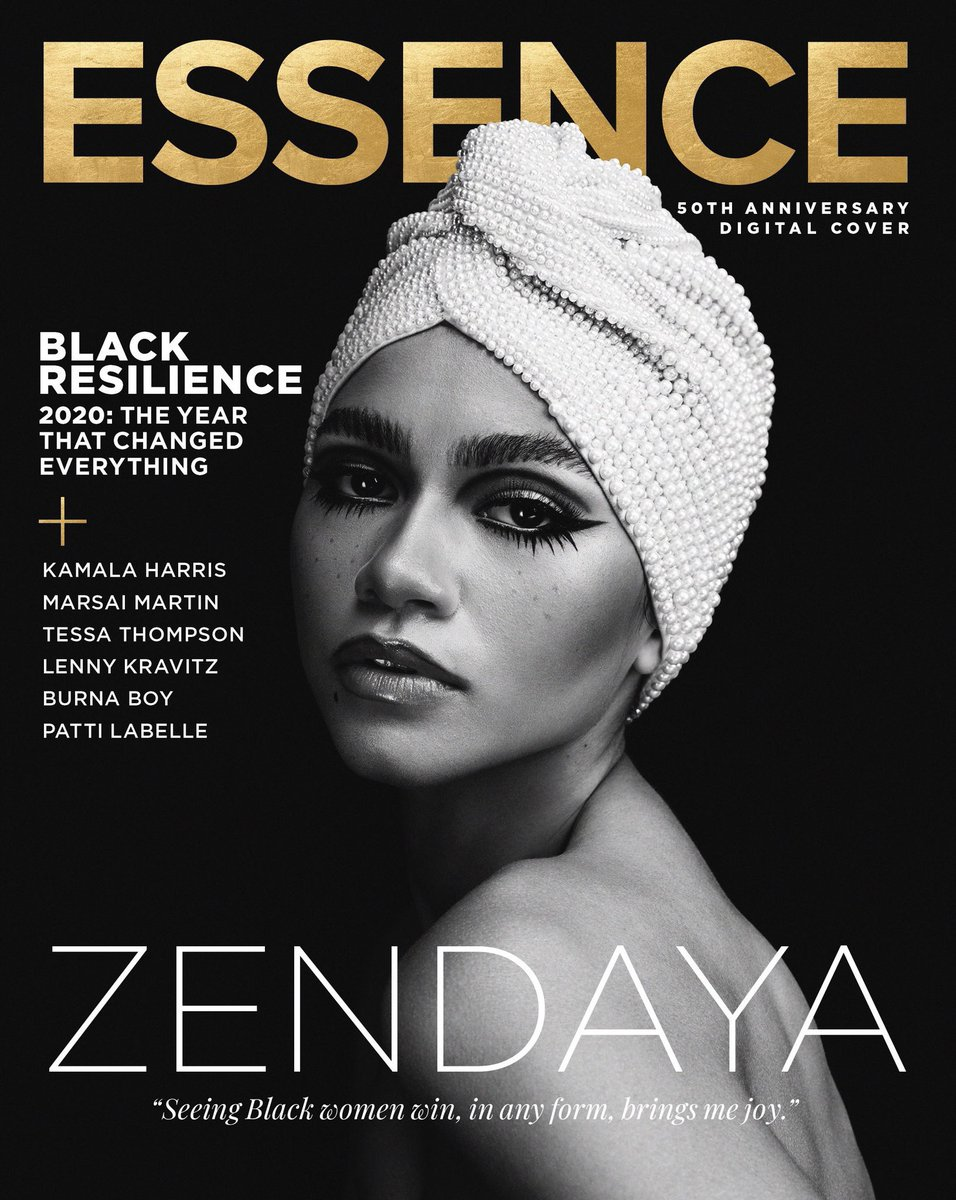 This was an absolute honor to grace this very special 50th anniversary cover of @essence while paying tribute to the iconic Donyale Luna, often credited as the first black supermodel. Shot by AB+DM Studio, Interview by @SylviaObell