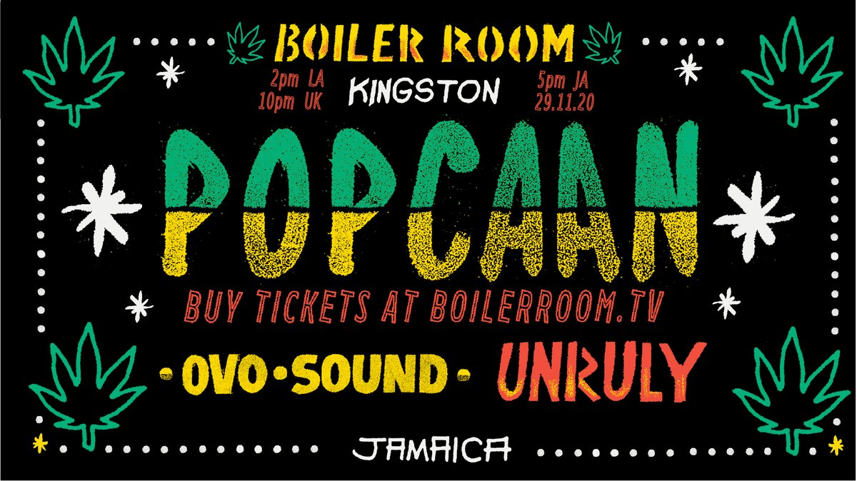 🚨 We're hosting the first-ever live show for @PopcaanMusic's new project FIXTAPE, direct from a historic fort in Jamaica. New music played for the first time, a run of all-time classics & an entourage of special guests. One night only, online only:
