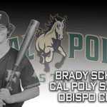 Image for the Tweet beginning: Brady Schrank has committed to