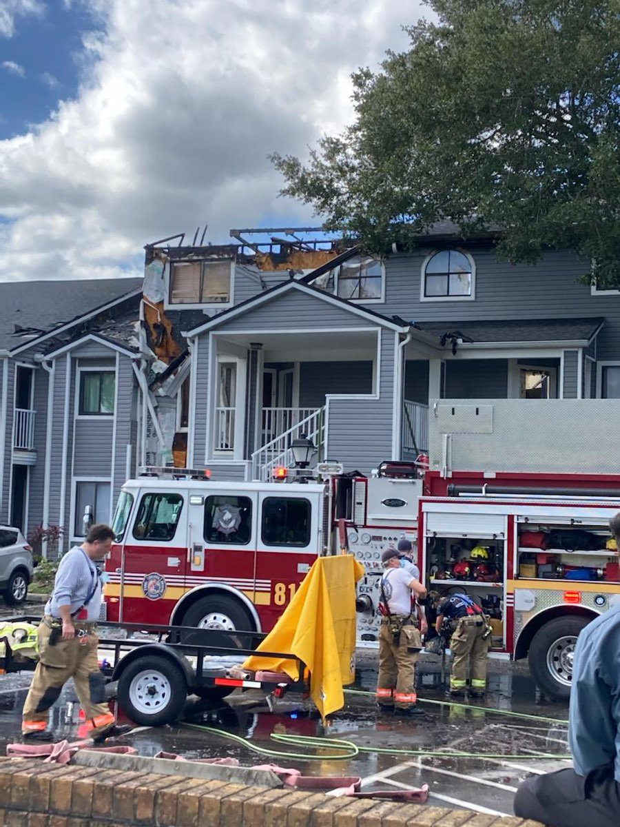 Thank you to Rep. @CarlosGSmith and your team for your dedication to the community! We, too, are grateful for the lifesaving work of @OCFireRescue. Residents impacted by the fire that have not already connected with the Red Cross can call 📞 1⃣-8⃣0⃣0⃣-RED-CROSS to report. 🚨