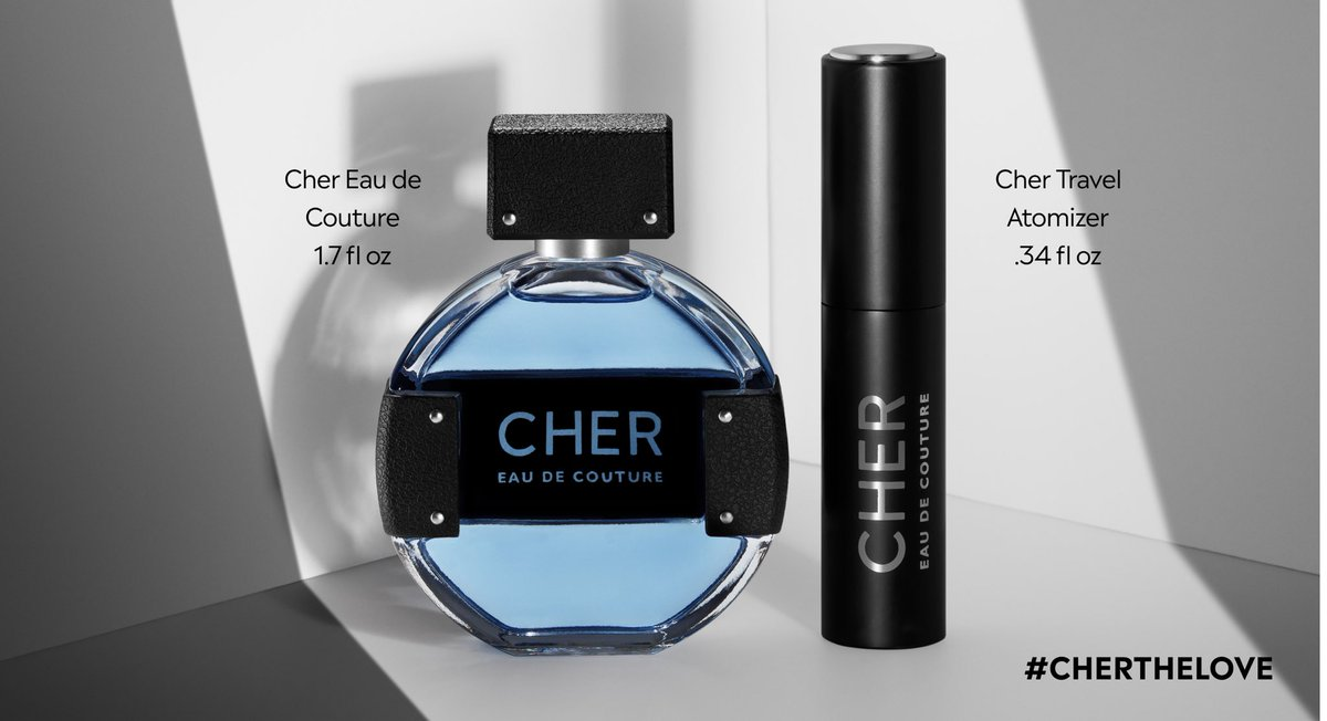 Cher Eau de Couture Full size + Atomizer is back and on sale 🎉, with a special pre-holiday price. Plus we are giving away the Duo to 20 Cher fans😘on Instagram