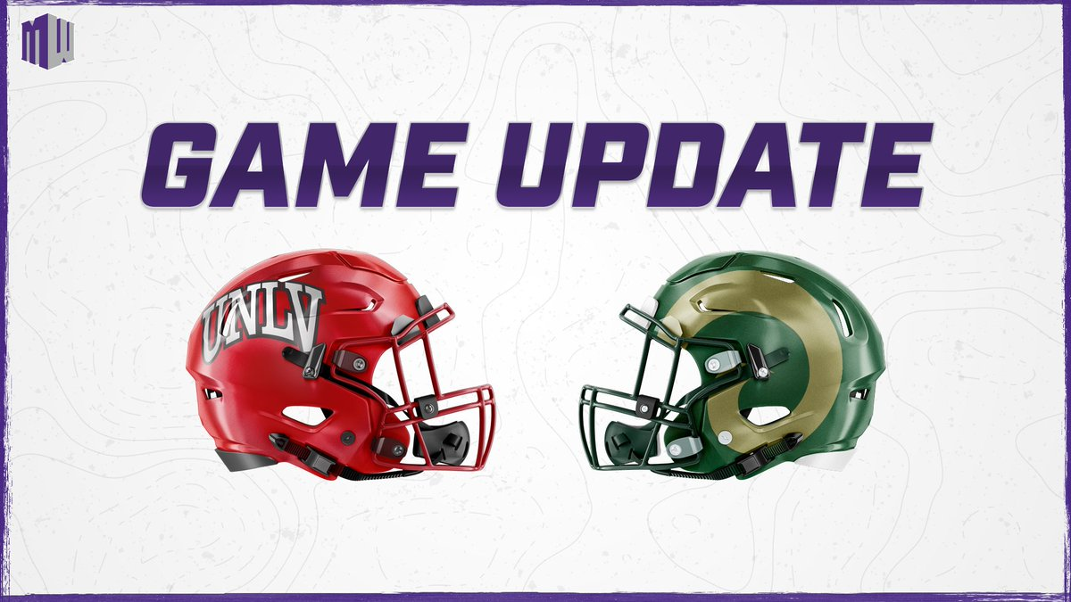 Due to positive COVID-19 tests and the resulting contact tracing within the UNLV football program, the Rebels are unable to travel and participate in the scheduled football game at Colorado State on Saturday, November 21.