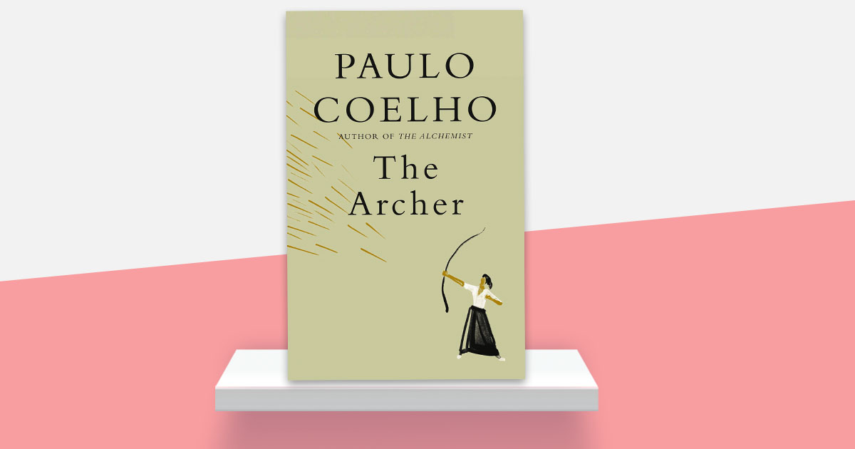 """A book of affirmation. A book about not surrendering. A book from the heart.""  Sounds perfect for right about now ❤️🏹  A conversation with @paulocoelho for THE ARCHER, via @amazonbooks:"