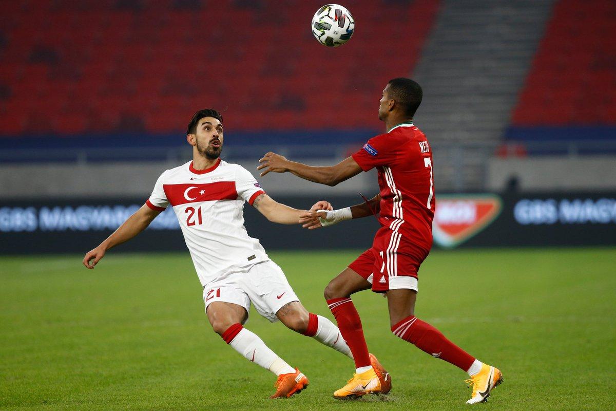 A MİLLİ TAKIMIMIZ KÜME DÜŞTÜ!  🏆 UEFA Uluslar Ligi grup maçında A Milli Takımımız, Macaristan'a 2-0 mağlup oldu ve C Ligi'ne düştü.   ⚽️ 57' David Siger ⚽️ 90+5' Varga https://t.co/JJ4OmrRwQw